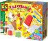 Направи сам с ароматен пластилин - Сладолед - Творчески комплект -