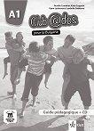 Club @dos Pour la Bulgarie - ниво A1: Книга за учителя по френски език за 8. клас + CD - Aurelie Combriat, Katia Coppola, Vyara Lyubenova, Lyudmila Galabova -