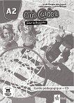 Club @dos Pour la Bulgarie - ниво A2: Книга за учителя по френски език за 8. клас + CD - учебна тетрадка