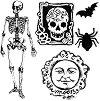 Силиконови печати - Halloween - Размер 10 x 10 cm -