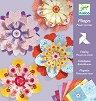 Киригами - Цветя - Творчески комплект -