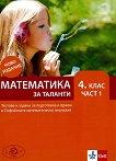 Математика за таланти - част 1 : Тестове и задачи за подготовка и прием в 4. клас на СМГ - учебник