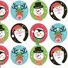 Салфетки за декупаж - Коледни създания - Пакет от 20 броя -