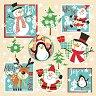 Салфетки за декупаж - Коледни рисунки - Пакет от 20 броя