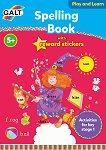 Galt: Книжка за правопис на английски език със стикери : Spelling Book with Reward Stickers -
