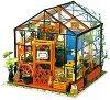 """Зимна градина с цветя - Сглобяем модел от серията  """"DIY House"""" -"""