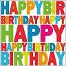Салфетки за декупаж - Честит рожден ден - Пакет от 20 броя -