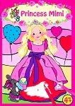 Princess Mimi - книжка за оцветяване + стикери -