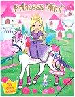 Princess Mimi - книжка за оцветяване с приказни герои + стикери - книга