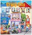 Създай свой луд град + стикери - детска книга