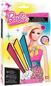 Барби - комплект за оцветяване + стикери -