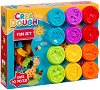 """Моделин - Забавна игра - Комплект от 30 части от серията """"Crea Dough"""" -"""