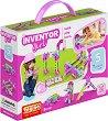 """Детски конструктор - 5 в 1 - Комплект от серията """"Inventor Girl"""" -"""