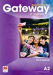 Gateway - Pre-Intermediate (А2): Учебник за 8. клас по английски език : Second Edition - David Spencer -