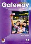 Gateway - Pre-Intermediate (А2): Учебник за 8. клас по английски език Second Edition -