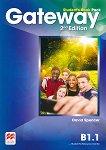 Gateway - Intermediate (B1.1): Учебник за 8. клас по английски език Second Edition -