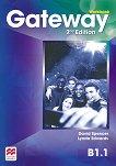Gateway - Intermediate (B1.1): Учебна тетрадка за 8. клас по английски език Second Edition - учебна тетрадка