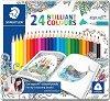 """Цветни моливи - Ergo Soft 157 - Комплект от 24 или 36 цвята от серията """"#MyCreativeEscape"""" -"""
