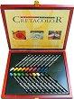 Водоразтворими маслени пастели - Aqua Stics - Комплект от 20 цвята в дървена кутия -