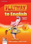 Playway to English - ниво 1: Флашкарти по английски език Second Edition - помагало