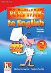 Playway to English - ниво 2: Флашкарти по английски език Second Edition - продукт