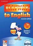 Playway to English - ниво 2: Книга с материали за учителя по английски език + CD : Second Edition - Herbert Puchta, Gunter Gerngross, Garan Holcombe -