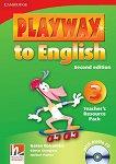 Playway to English - ниво 3: Книга с материали за учителя по английски език + CD : Second Edition - Herbert Puchta, Gunter Gerngross, Garan Holcombe -