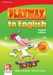 Playway to English - ниво 3: Флашкарти по английски език Second Edition -