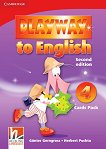 Playway to English - ниво 4: Флашкарти по английски език : Second Edition - Herbert Puchta, Gunter Gerngross -