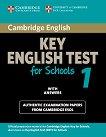 Cambridge English Key for Schools: Учебник с отговори за международния изпит KET : First Edition -