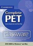 Complete PET - ниво B1: Classware - DVD-ROM по английски език за международния изпит PET - Emma Heyderman, Peter May -