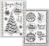 Трансферна хартия - Коледа - Опаковка от 2 листа с формат А4 -