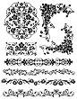 Гумен печат - Флорални мотиви - Размери 14 х 18 cm -