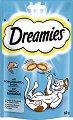 Dreamies with Salmon - Лакомство със сьомга за котки на възраст над 8 седмици - опаковка от 60 g -