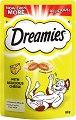 Dreamies with Cheese - Лакомство със сирене за котки на възраст над 8 седмици - опаковка от 60 g -
