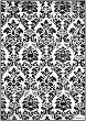 Декупажна хартия - Ретро тапет - Формат А4 -