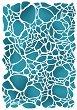 Шаблон - Напукан ефект - Размери 20 x 15 cm