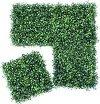 Декоративни плочи от изкуствени растения - Комплект от 4 броя -