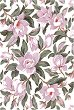 "Декупажна хартия - Розова магнолия 161 - Серия ""Digital Collection Mulberry"" -"