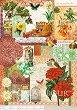 """Декупажна хартия - Екзотика - Серия """"Digital Collection Mulberry"""" -"""