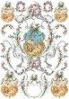 "Декупажна хартия - Барокови декоративни елементи 250 - Серия ""Digital Collection Mulberry"" -"