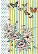 """Декупажна хартия - Пеперуди и цветя 294 - Серия """"Digital Collection Mulberry"""" -"""