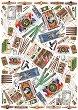 """Декупажна хартия - Цигари и кибрит 72 - Серия """"Digital Collection Mulberry"""" -"""