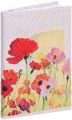 Текстилна подвързия за книга: Цветя -