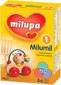 Мляко за кърмачета - Milumil 1 - Опаковка от 400 g за бебета от 0 до 6 месеца -