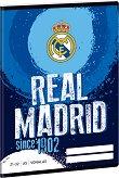 Ученическа тетрадка - Real Madrid : Формат А5 с широки редове - 32 листа -