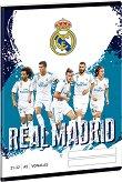 Ученическа тетрадка - Real Madrid : Формат А5 с широки редове - 32 листа - книга