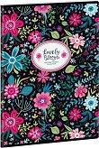 Ученическа тетрадка - Evening Blooms : Формат А4 с широки редове - 40 листа -