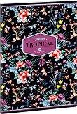 Ученическа тетрадка - Tropical Night : Формат А4 с широки редове - 40 листа -