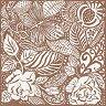 Салфетки за декупаж - Флорални мотиви - Пакет от 20 броя -